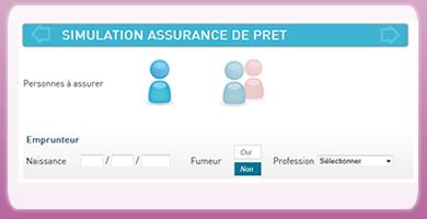 Réalisez votre simulation assurance pret